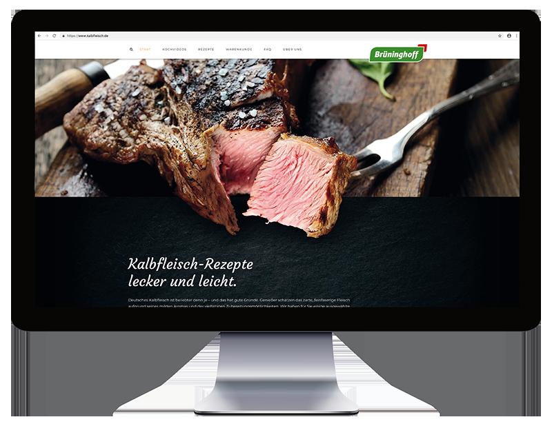 Eine Website zum Genießen.